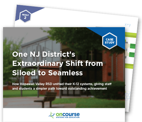 One NJ District's Extraordinary Shift from Siloed to Seamless: How Hopewell Valley RSD unified their K-12 systems, giving staff and students a simpler path toward outstanding achievement